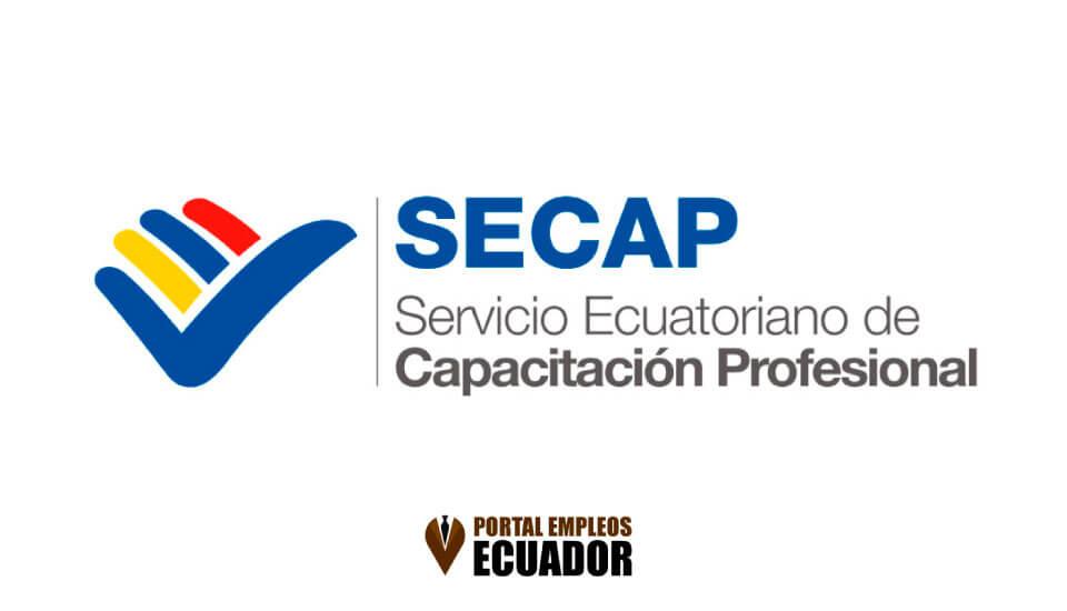 SECAP Ecuador: Lista de Cursos Secap