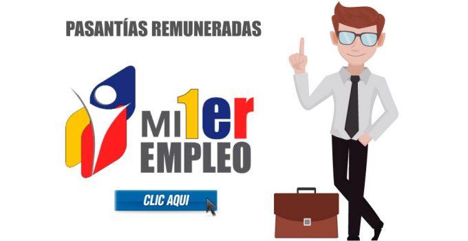 Mi Primer Empleo: Sistema de pasantías remuneradas en Ecuador