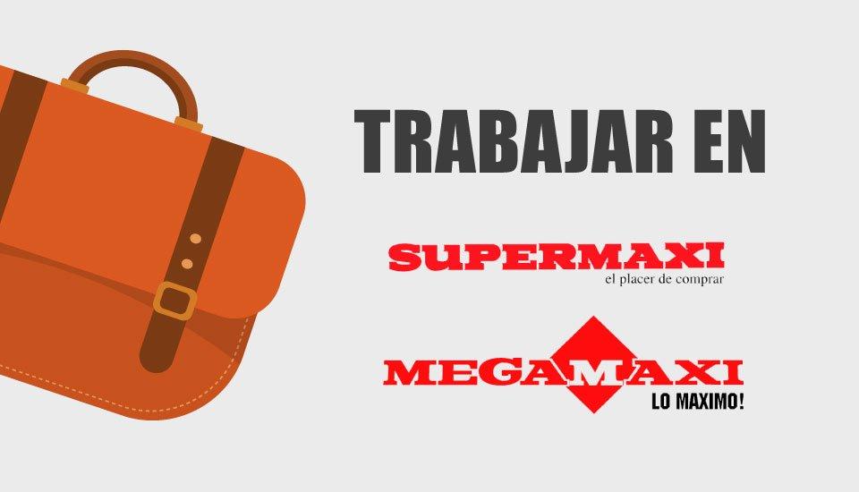 trabajar en supermaxi y megamaxi