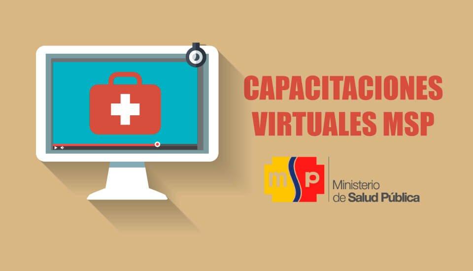 Inscríbete a los Cursos Virtuales MSP - Ministerio de Salud Pública 2019