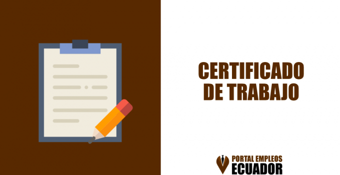 Modelo de Certificado de Trabajo en Word
