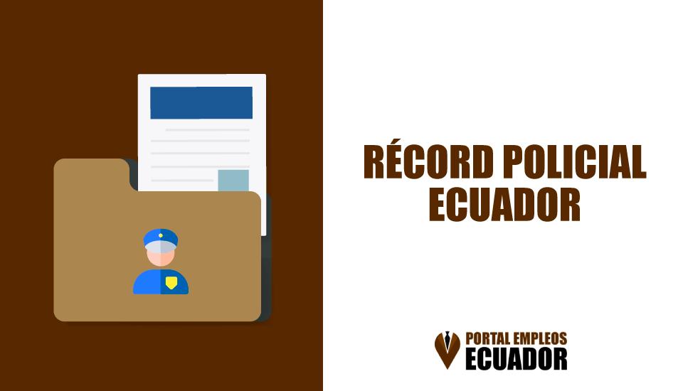 Obtener Certificado de Antecedentes Penales | Récord Policial