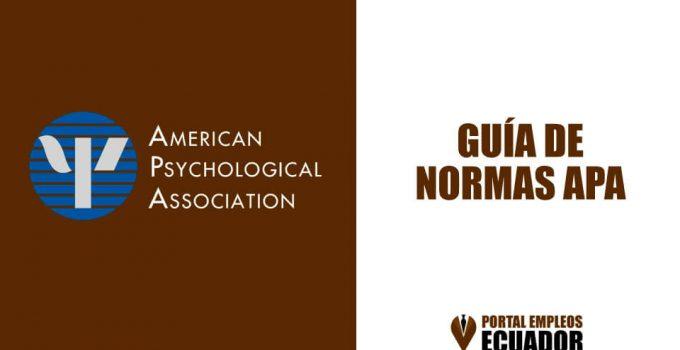 La Guía Completa de Normas APA (6ta edición)
