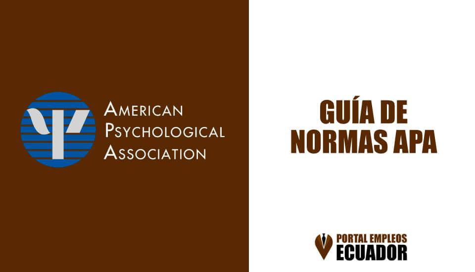 Normas APA 2019 [6ta Edición] | Guía para trabajos escritos