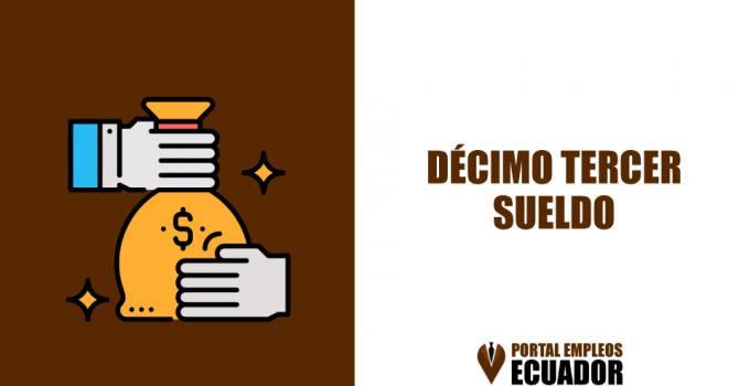 decimo tercer sueldo ecuador
