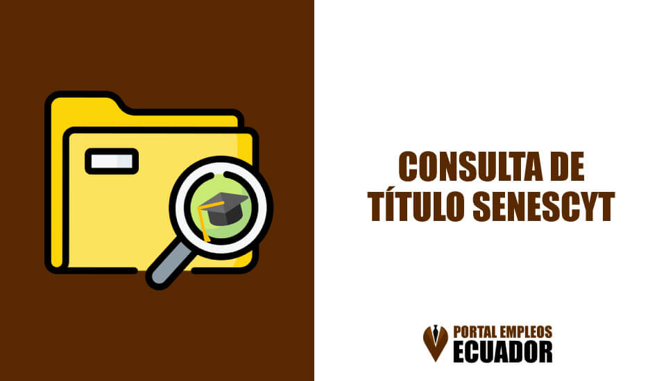 Consulta de titulo Senescyt