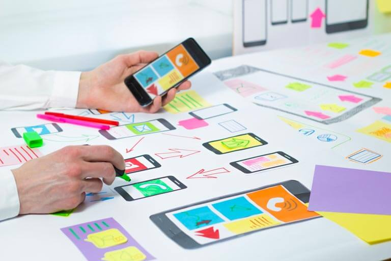 Creación de páginas web y aplicaciones
